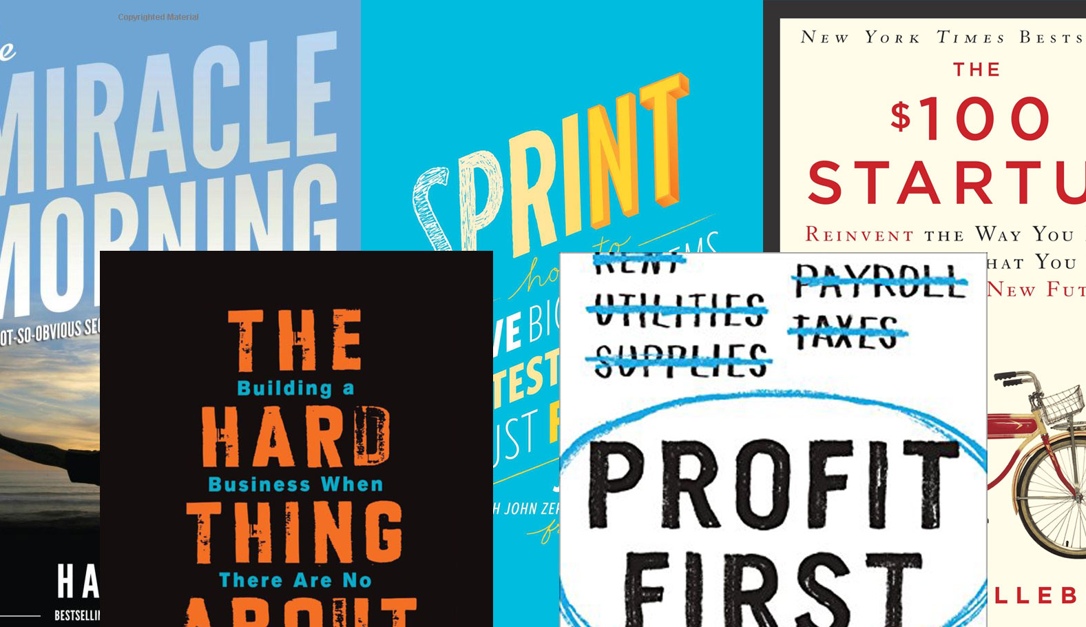 Building a Startup? Read These 5 Books First.